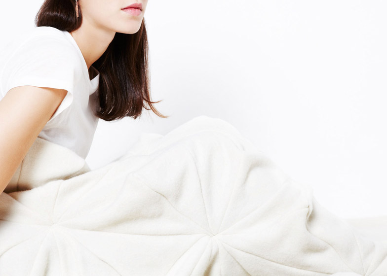 Bloom blanket by Bianca Cheng Costanzo
