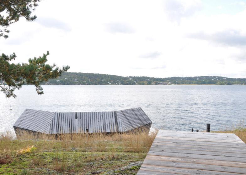 Brenner Bastu sauna by Hans Murman