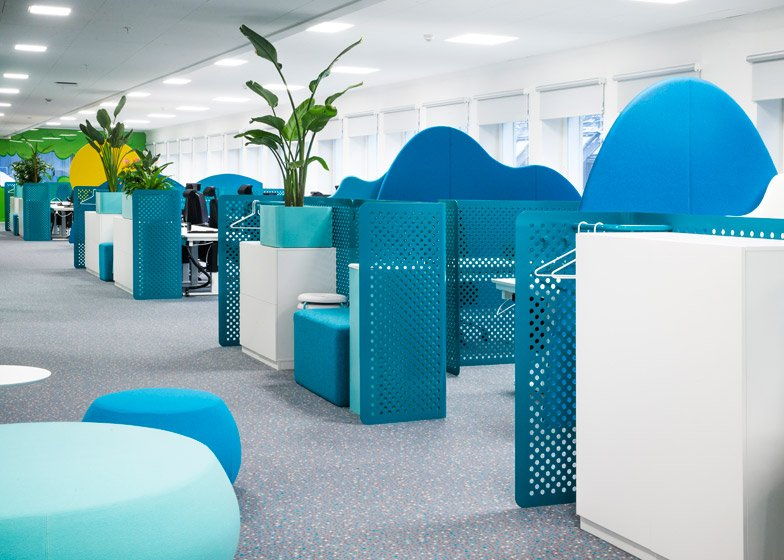 Video Tour Google Office Stockholm In Candy Crush Offices Designed As
