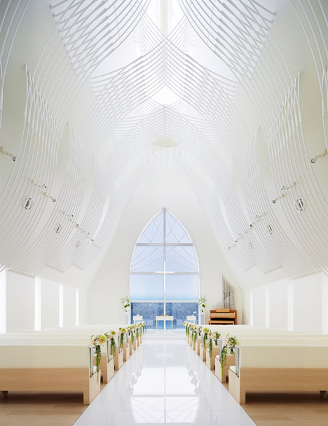 Chapel in Japan by Eriko Kasahara