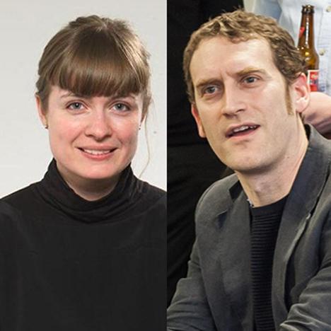 Christine Murray and Rory Olcayto
