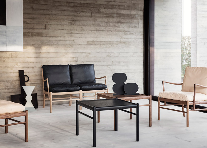 Carl Hansen Son Completes Wanscher S Colonial Collection