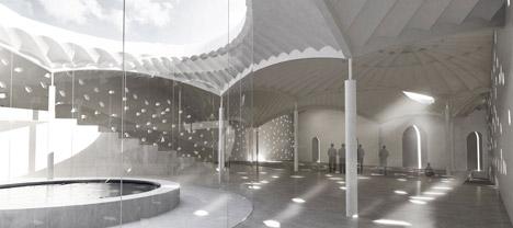 Copenhagen mosque by Henning Larsen