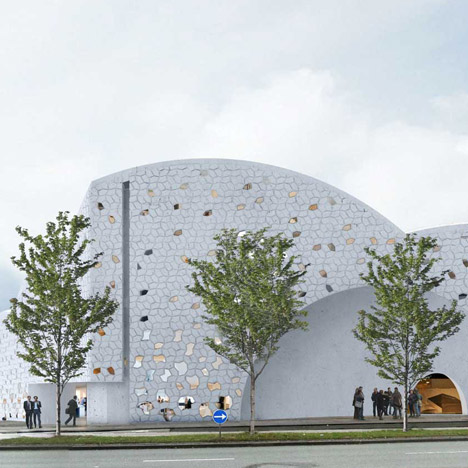 Henning Larsen reveals designs for new mosque in Copenhagen