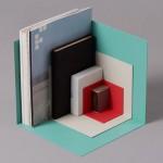 Kyuhyung Cho creates colourful three-sided shelves for Menu