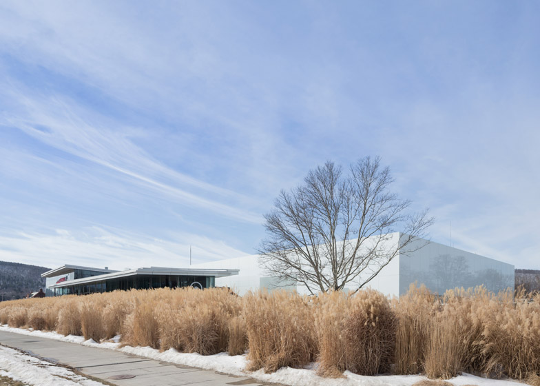 Corning Museum of Glass wing designed by Thomas Phifer and Partners
