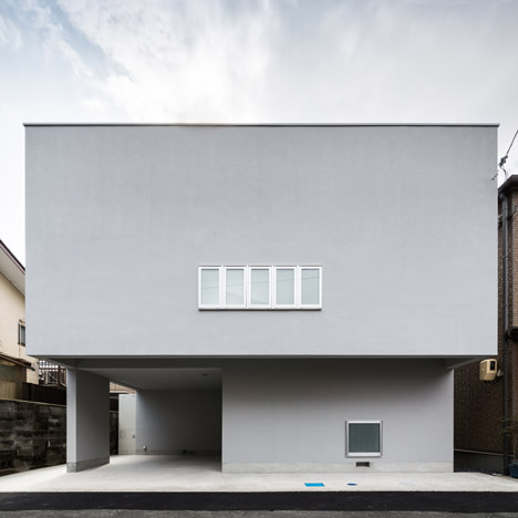 Kouichi Kimura's Cozy House is a family home in a busy Japanese neighbourhood