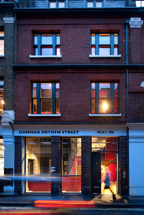 Donmar Dryden Street by Haworth Tompkins