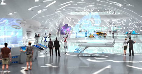 Interior Design Future dubai unveils vision for museum of the future