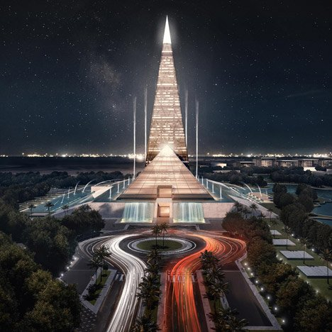 Egypt plans pyramid-inspired skyscraper in Cairo