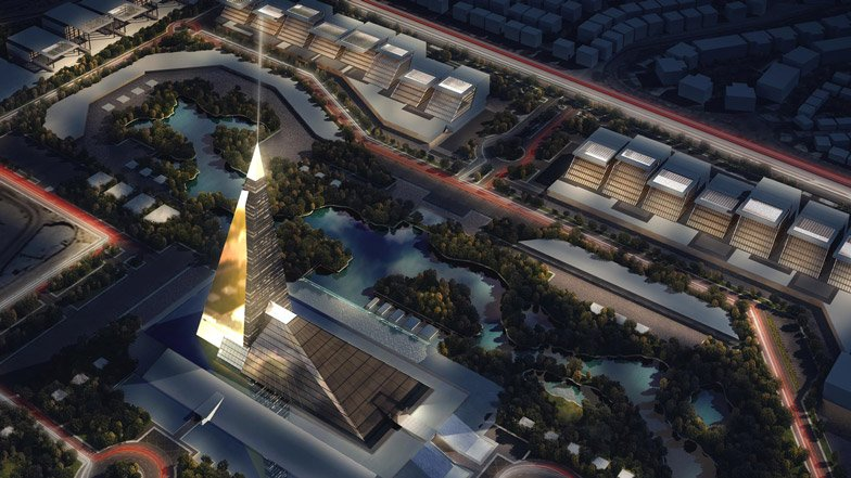 Pyramid skyscraper planned for Cairo, Egypt