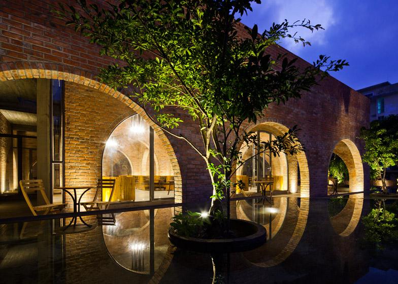 F Coffee Vietnam cafe by Wang Studio