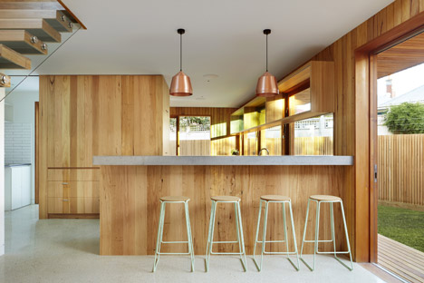 Fenwick Street House by Julie Firkin