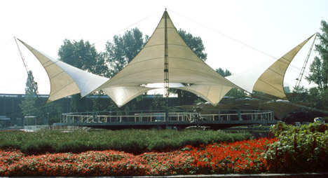 Dance Pavilion at the Federal Garden Exhibition, 1957, Cologne, Germany