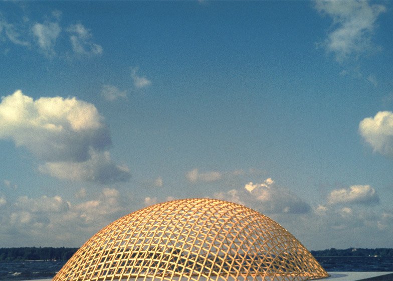 Model for the Lath Dome at the German Building Exhibition, 1962, Essen, Germany