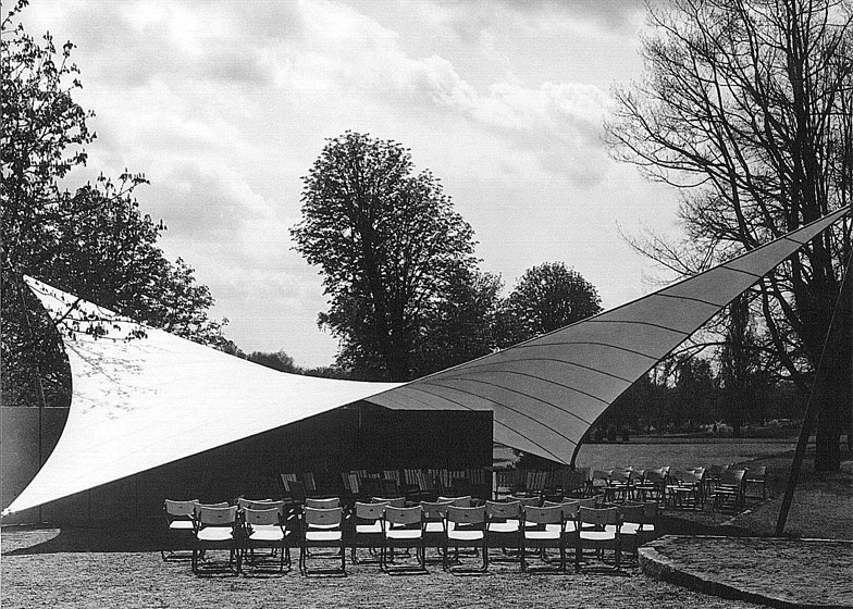 Music Pavilion at the Federal Garden Exhibition, 1955, Kassel, Germany