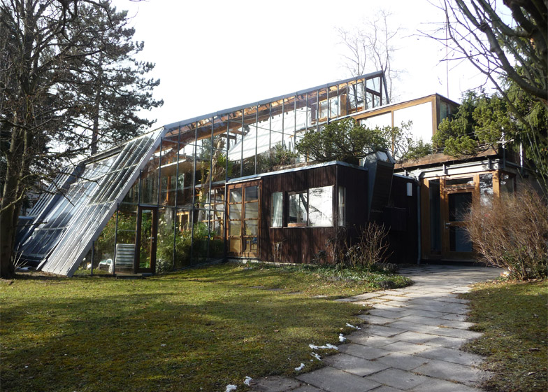 Otto Residence (with Rob Krier), 1967, Warmbronn, Germany, near Stuttgart