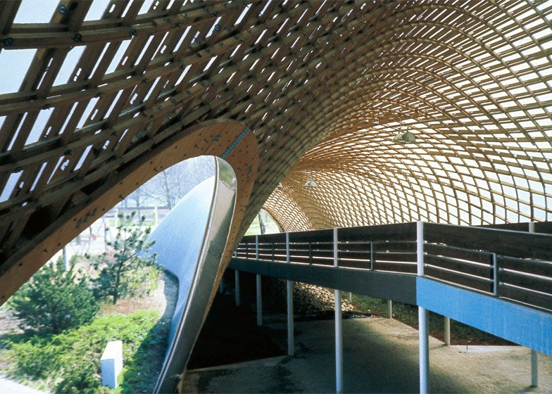 Roof for the Multihalle in Mannheim, 1970–1975, Mannheim, Germany