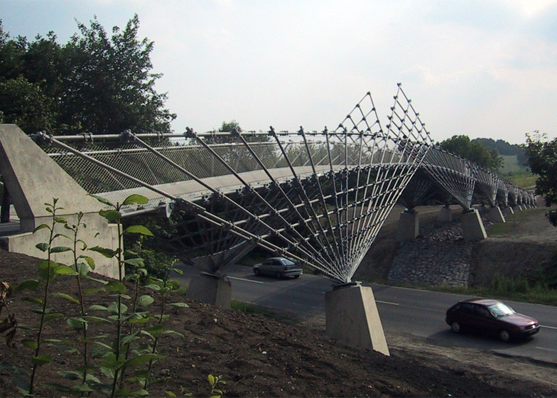 Bridge in the Mechtenberg Nature Preserve, 2002, The Ruhr region, Germany