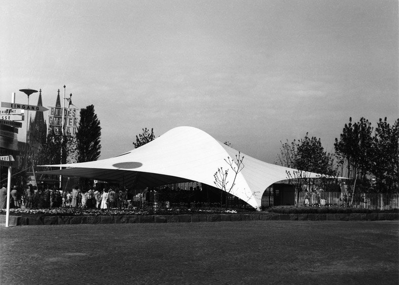 Entrance Arch at the Federal Garden Exhibition, 1957, Cologne, Germany