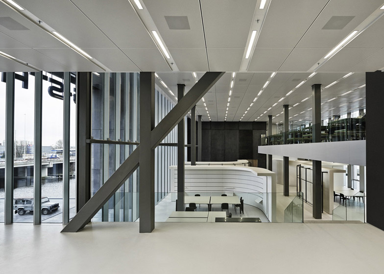 G-Star RAW's headquarters in Amsterdam by OMA