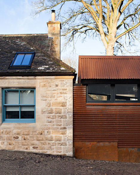Gasworks cottage by Chris Dyson