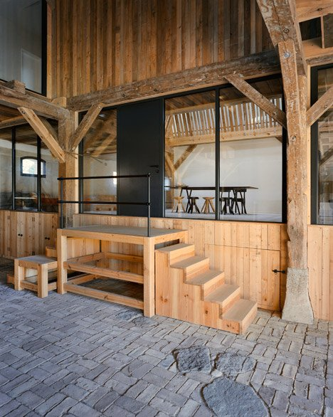 German barn conversion by Thomas Kröger