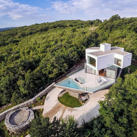 Gumno House in Croatia by Turato Architects