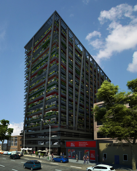 Adjaye to transform johannesburg high rise into apartments for Apartment plans south africa