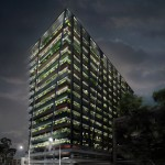 David Adjaye to turn Johannesburg high-rise into plant-covered apartment block