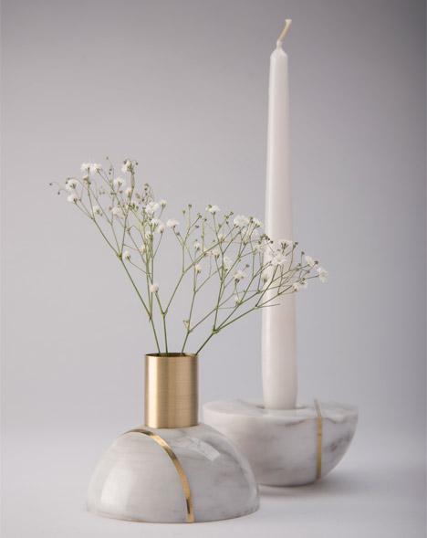 Hauri candleholders by Peca