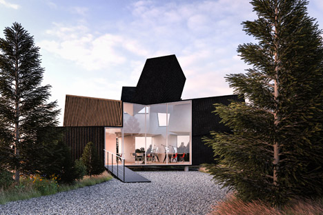 Hechingen Studio across the Landscape by Whitaker Studio