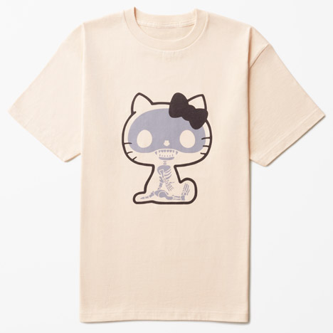 Hello Kitty T-shirt collection by Nendo