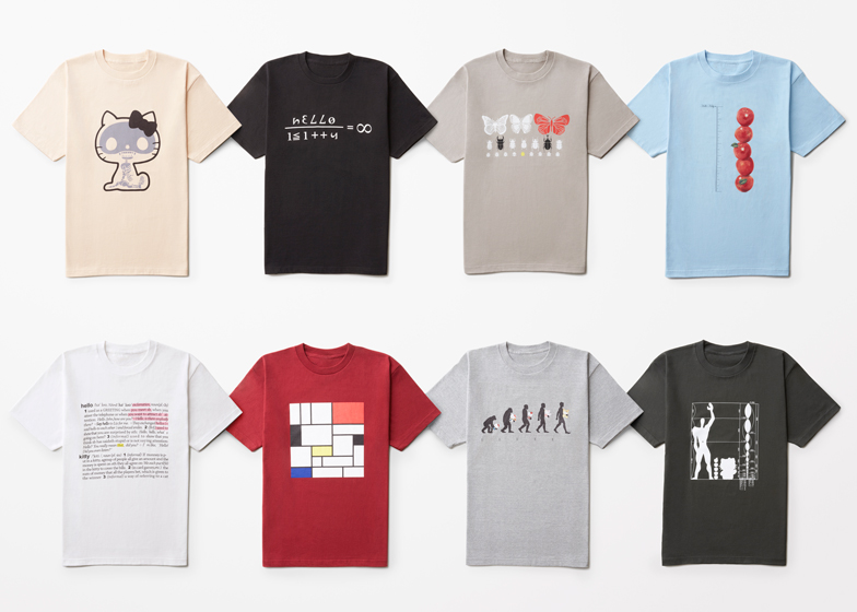 Nendo rethinks Hello Kitty for men's T-shirt range