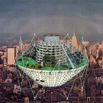 Jan Kaplický's futuristic drawings go on show at London's Architectural Association