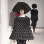 Junya Watanabe folds textiles into mathematical patterns for Autumn Winter 2015