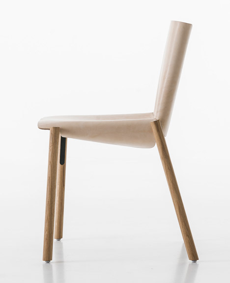 Hide Chair, 1085 edition by Kristalia