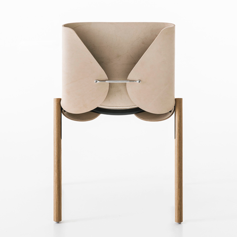 Hide Chair, 1085 edition by Bartoli Design at Kristalia