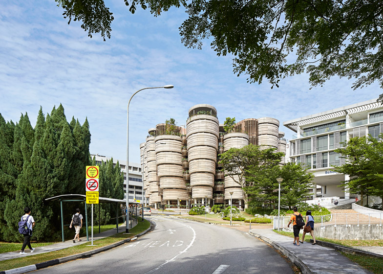 Learning Hub Nanyang Technological University by Heatherwick Studio