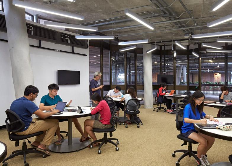 Learning Hub Nanyang Technological University by Heatherwick Studio