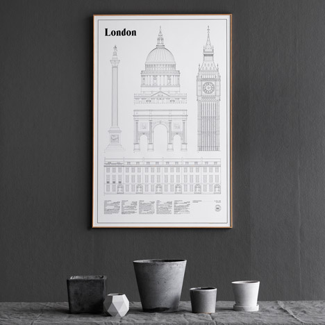 Competition: five London Landmarks and Elevations posters to be won