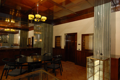 Restored Adolf Loos Interiors Open To The Public In Pilsen