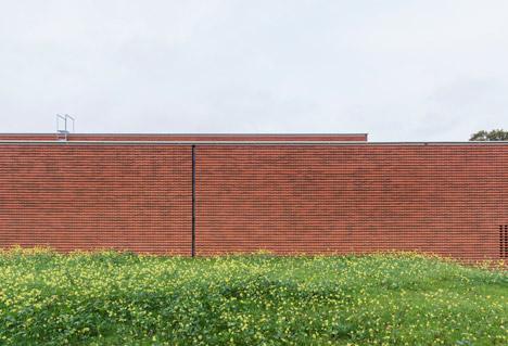 Marbjerg Vandværk waterworks by Gottlieb Paludan Architects