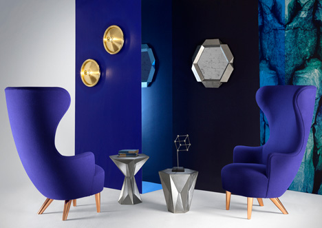 Wingback chairs by Tom Dixon