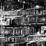 """Abstract photography by Lewis Bush chronicles the """"aggressive redevelopment"""" of London"""