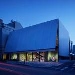 Herzog & de Meuron adds giant steel awning to Miu Miu store in Aoyama