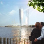 Shadow-free skyscrapers would redirect the sun's rays to public plazas