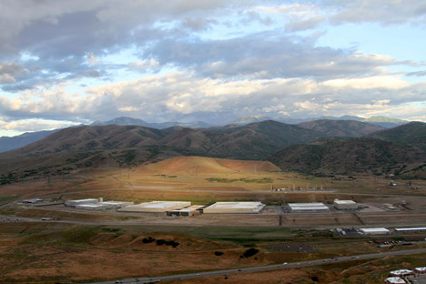 Electronic Frontier Foundation photograph of NSA's Utah Data Center