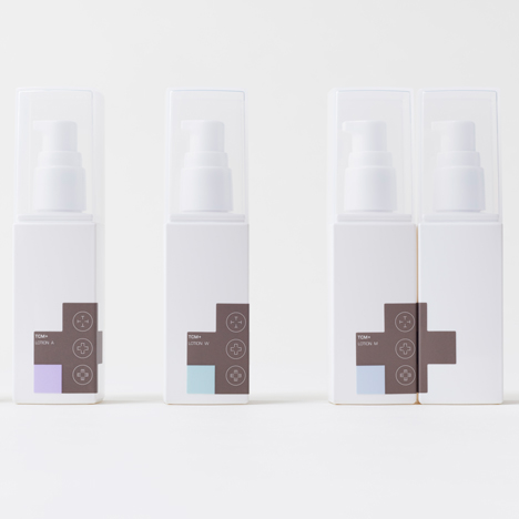 Nendo designs brand identity for skincare based on Chinese medicine