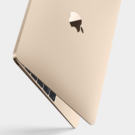 Apple's thinnest and lightest MacBook comes in gold